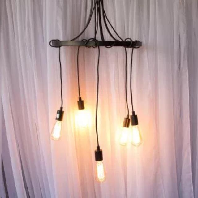 Where to find Chandelier, Edison Bulb, Circle 5 Bulbs in Grand Rapids