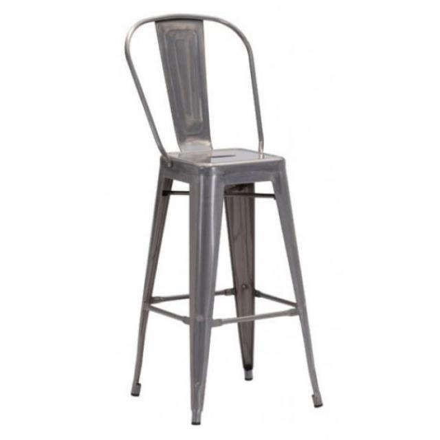 Where to find Barstool, Elio, Gun Metal, With Back in Grand Rapids