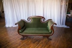 Rental store for Settee, Green Velvet in Grand Rapids MI