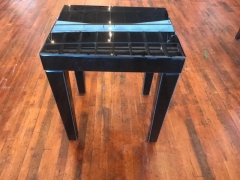 Rental store for Table, Coffee, Mirror, Black in Grand Rapids MI