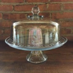 Rental store for Cake Stand Glass with Top in Grand Rapids MI