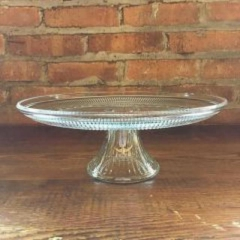 Rental store for Cake Stand Vintage Glass in Grand Rapids MI