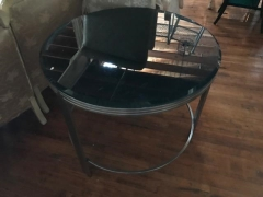 Rental store for Table, Coffee, Silver Mirror, Glasstop in Grand Rapids MI