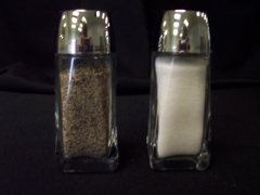 Rental store for Salt   Pepper Set, Glass, Large in Grand Rapids MI