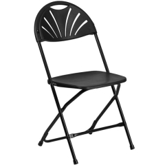 Rental store for Chair, Folding, Black, Fan Back in Grand Rapids MI