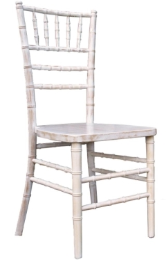 Rental store for Chair, Chiavari, Antique, White in Grand Rapids MI