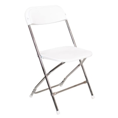 Rental store for Chair, Folding, Wh Chrome  Holland Only in Grand Rapids MI