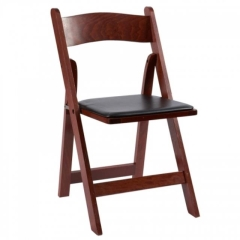 Rental store for Chair, Mahogany, Folding, w pad in Grand Rapids MI