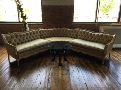 Rental store for Settee, Curved, Ivory 3 Piece Sectional in Grand Rapids MI