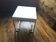 Rental store for Table, End, White, Modern in Grand Rapids MI