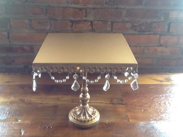 Where to find Cake Stand Bronze with Crystals in Grand Rapids