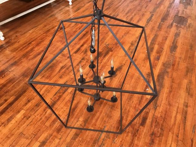 Where to find Chandelier, Black Rectangle in Grand Rapids