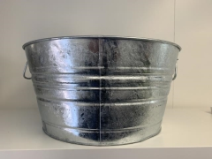Rental store for Bucket, Galvanized Medium in Grand Rapids MI