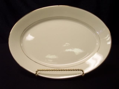 Rental store for Platter, Oval Cream   Gold in Grand Rapids MI