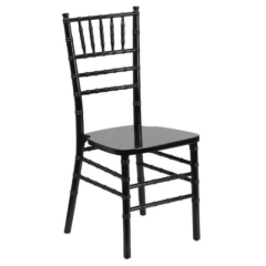Rental store for Chair, Chiavari, Black, pad included in Grand Rapids MI