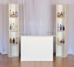 Rental store for Bar, Back, White   2 - stand Alone cubes in Grand Rapids MI