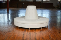 Rental store for Couch, Circular, White in Grand Rapids MI