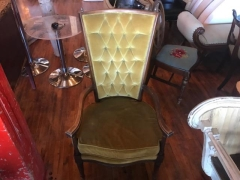 Rental store for Chair, Vintage, Gold in Grand Rapids MI