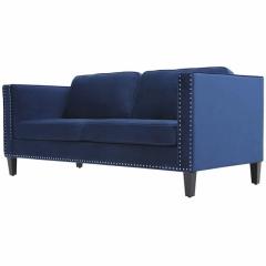 Rental store for Couch, Velvet, Navy Blue in Grand Rapids MI