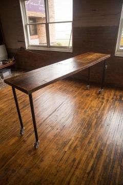 Rental store for Table, Communal 8  x 2 , 42 tall Farm ta in Grand Rapids MI