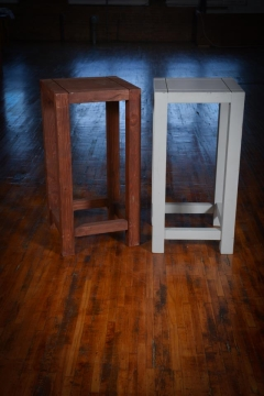 Rental store for Table, Wood, Custom, Stained 20 x 20 squ in Grand Rapids MI