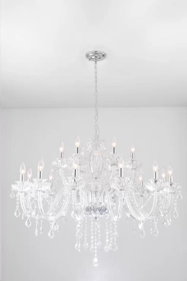 Where to find Chandelier, Crystal, 18 Light in Grand Rapids