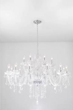 Rental store for Chandelier, Crystal, 18 Light in Grand Rapids MI