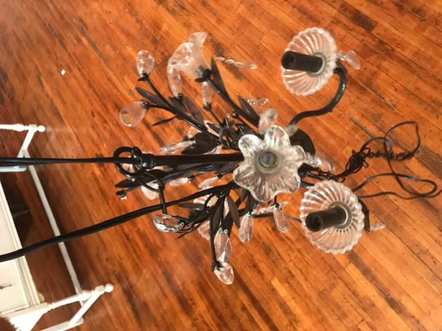 Where to find Chandelier, Black Crystal, Flower , Medi in Grand Rapids