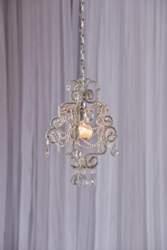 Rental store for Chandelier, Clear Crystal in Grand Rapids MI