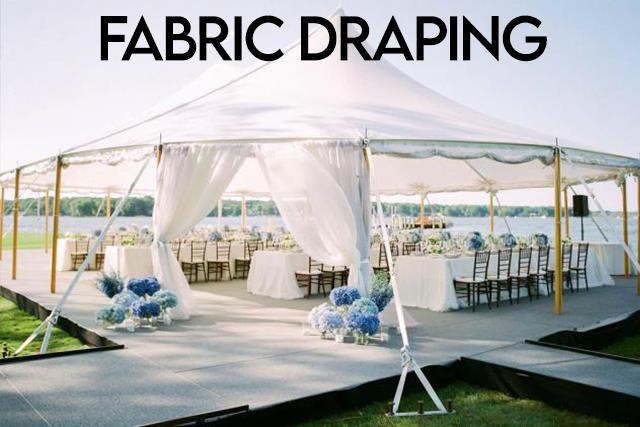 Rent Fabric Draping